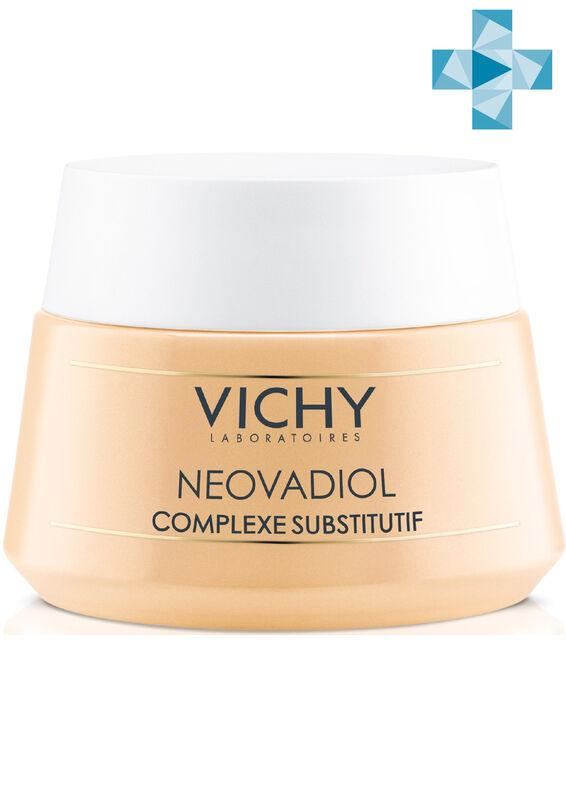 Vichy NEOVADIOL Компенсирующий комплекс, дневной крем-уход для сухой кожи в период менопаузы, 50 мл - фото 1