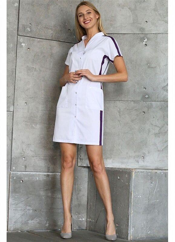 Доктор Стиль Медицинский халат «Эврика» ЛС 3130.46 - фото 2