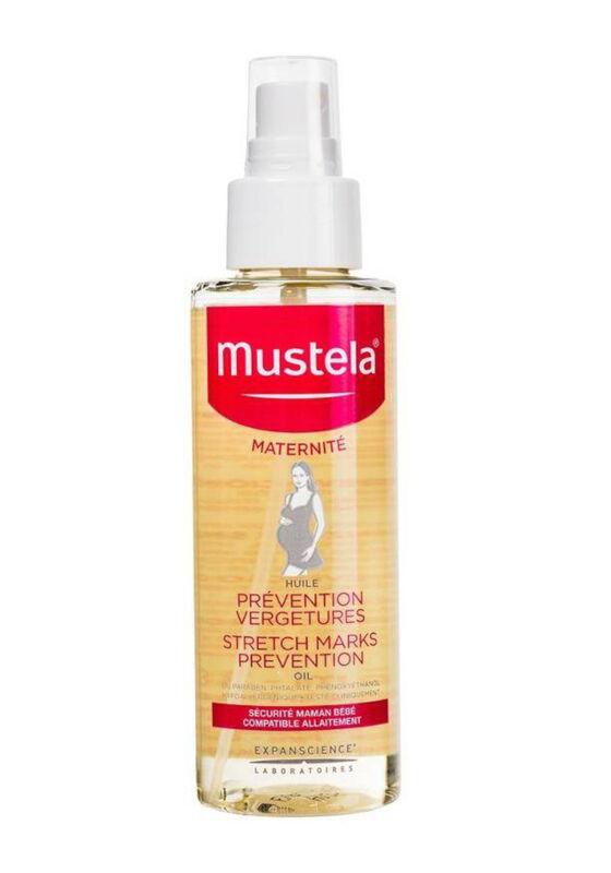 Mustela Масло для профилактики растяжек флакон с дозатором 105 мл - фото 1