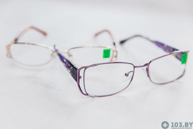 Очки Касияна Очки корригирующие в металлической оправах - фото 4