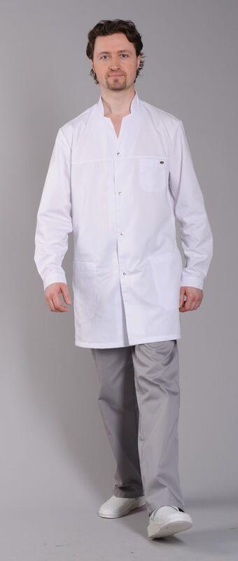 Доктор Стиль Халат медицинский мужской Руслан (лу1111) - фото 3