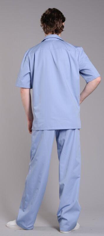 Доктор Стиль Блуза медицинская мужская Интерн (лл2213) - фото 2