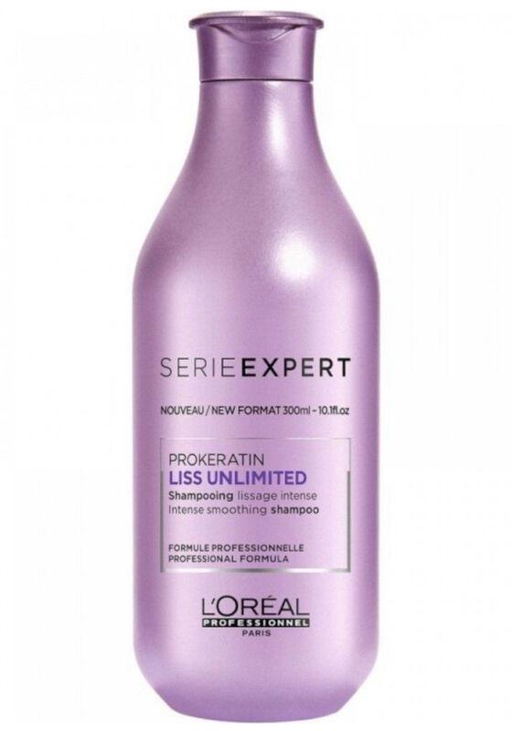 Loreal Шампунь интенсивно разглаживающий для непослушных волос LISS UNLIMITED 300 мл - фото 1