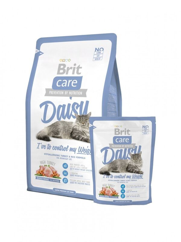 Brit Care Cat Daisy I've to control my Weight 2 кг. - фото 1