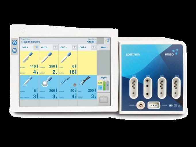 Медицинское оборудование Emed Электрохирургический коагулятор Spectrum - фото 1