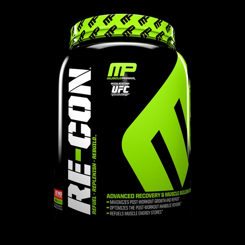 MusclePharm Re-con, 2.64lb (1200g) - фото 1