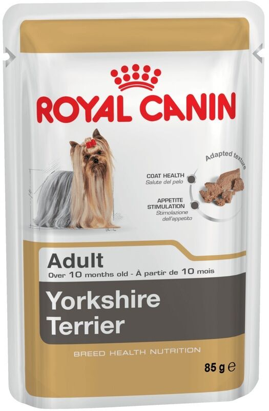 Royal Canin Yorkshire Terrier Adult 6шт. х 85 гр. - фото 1