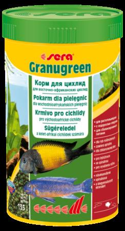 Sera Корм для рыб Granugreen - фото 1