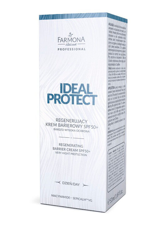 Farmona Крем ультра-защитный Ideal protect SPF50 (проф и дом уход) 50 мл - фото 1