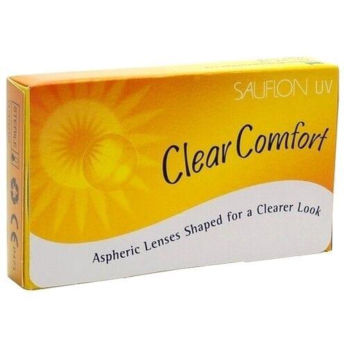 Контактные линзы Sauflon Clear Comfort (6 линз) - фото 1
