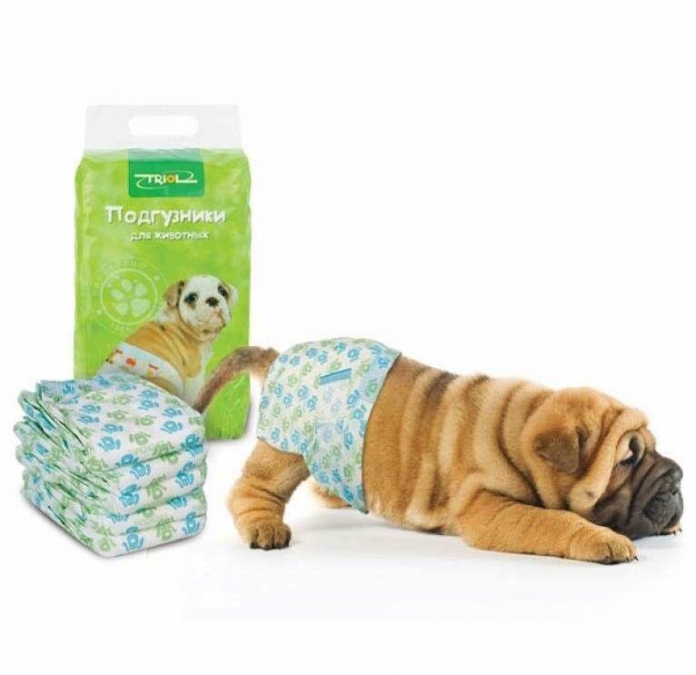 Triol Подгузники для собак (размер XL) - фото 1