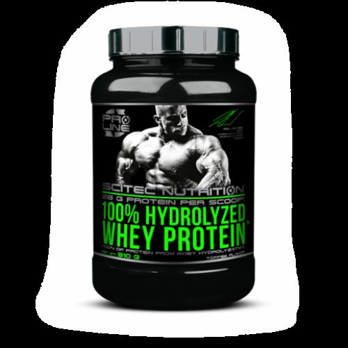 Scitec Nutrition 100% Hydrolyzed whey protein 910 гр - фото 1