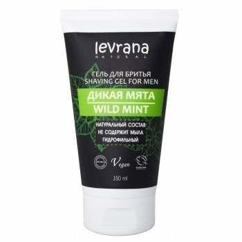 Levrana Гель для бритья гидрофильный «Дикая мята» - фото 1