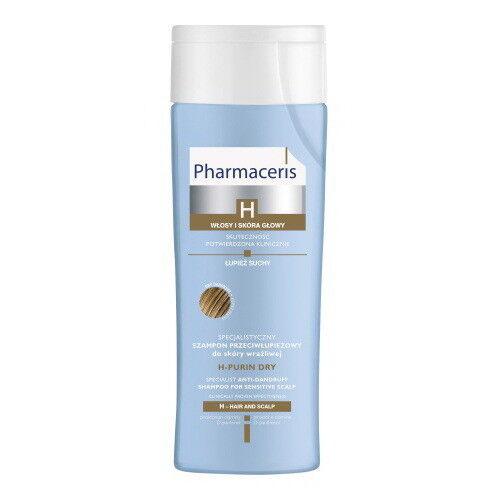 Pharmaceris Специальный шампунь от перхоти для чувствительной кожи (сухая перхоть) H-Purin dry - фото 1