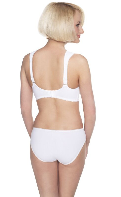 Аист Ортопедический бюстгальтер для фиксации протеза молочной железы 0281/1У белый Большие размеры! - фото 2