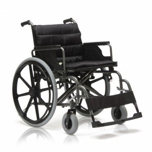 Прокат медицинских товаров Мега-Оптим Инвалидная коляска широкая FS951 - фото 1