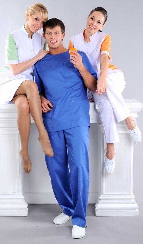 Доктор Стиль Блуза медицинская мужская Озон (лл2214) - фото 3