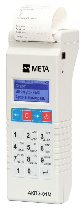 Алкотестер Мета АКПЭ-01М 03 - фото 1