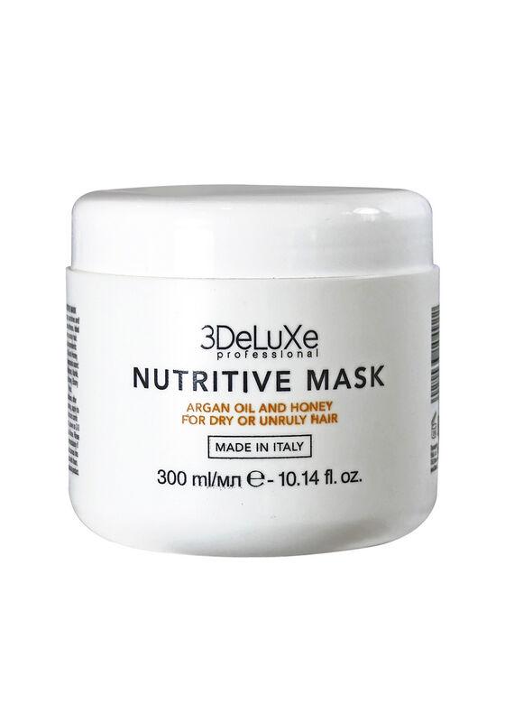 3DELUXE Маска для сухих и поврежденных волос Nutritive Mask 300 мл - фото 1