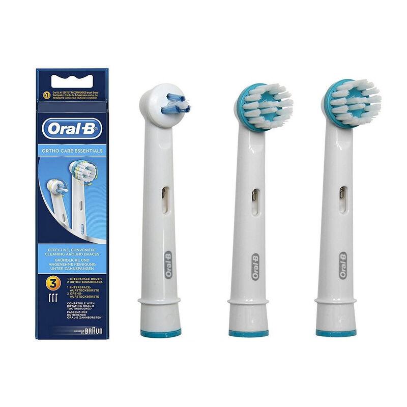 Braun Насадки для зубной щетки Oral-B Оrtho Сare Еssentials IP17 (3 шт) - фото 1