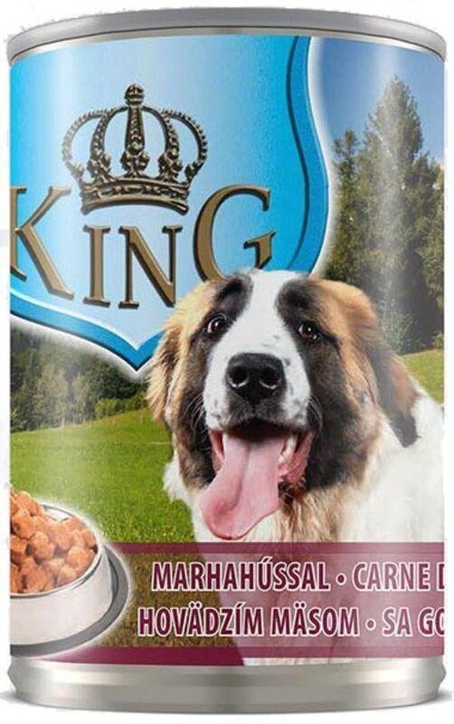 "Piko Pet Консервы ""King Dog Beef"" 415 г - фото 1"