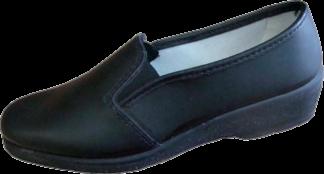 Спецобъединие Туфли Мила, женские, черные, кожаные, 5504 - фото 1