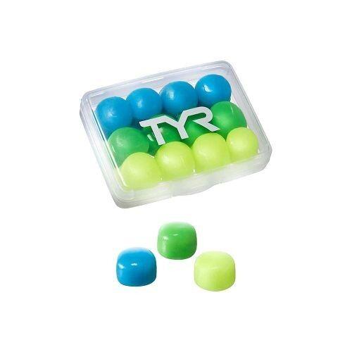 TYR Kids' Soft Silicone Ear Plugs LEPY12PK/970 Multicolour - фото 1