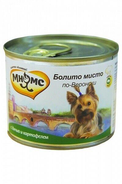 Мнямс Консервы для собак Болито мисто по-веронски 200 гр. х 6 шт. - фото 1
