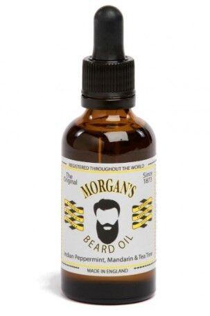 Morgan's Натуральное масло для бороды Natural Beard Oil 50 мл - фото 1