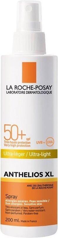 La-Roche-Posay Anthelios XL спрей SPF50+ для лица и тела, 200 мл - фото 1