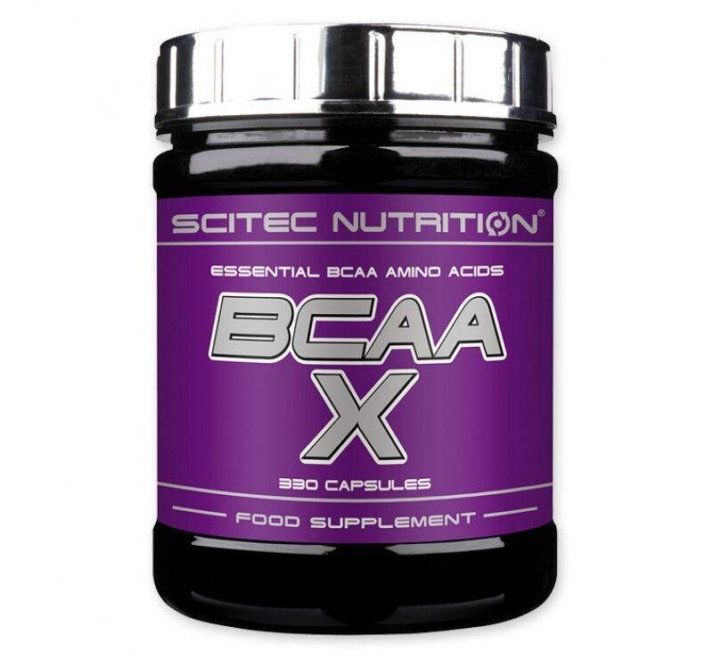 Scitec Nutrition Аминокислоты БЦА BCAA-X 330 кап - фото 1