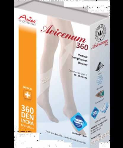 Aries Чулки с резинкой и открытым носком A 360 AG Sun - фото 1