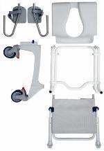 Санитарное приспособление Invacare Кресло коляска для душа Ocean - фото 2