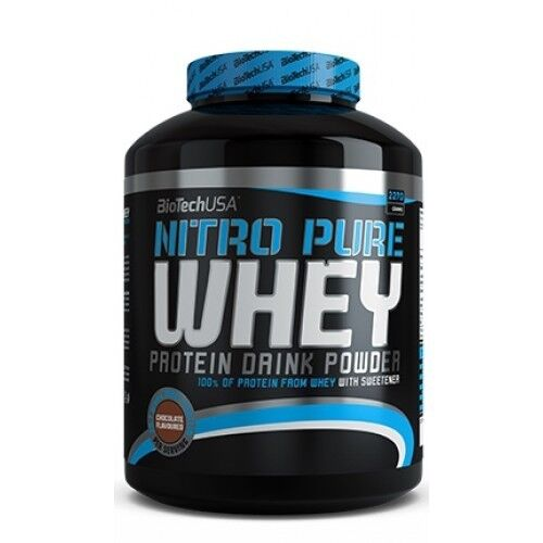 BioTech Протеин 100% Nitro Pure Whey 908 г - фото 1
