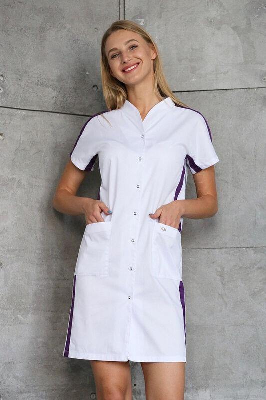 Доктор Стиль Медицинский халат «Эврика» ЛС 3130.46 - фото 1