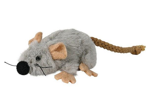Trixie Игрушка «Мышь» плюш, 7 см - фото 1