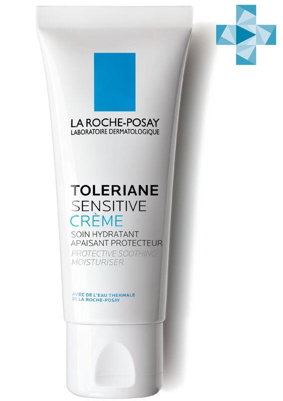 La-Roche-Posay SENSITIVE Увлажняющий уход для чувствительной кожи с пребиотической формулой, 40 мл - фото 1