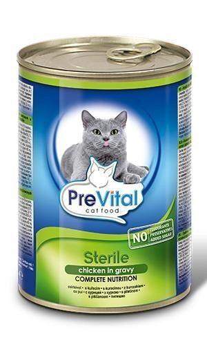 Prevital Premium line for Sterile Cats with Chicken Gravy - фото 1