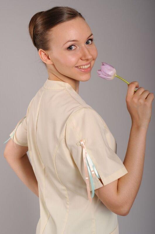Доктор Стиль Блуза медицинская женская Космея (лл2226) - фото 5