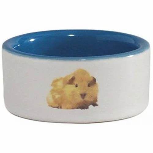 Beeztees Миска керамическая с изображением хомяка - фото 1