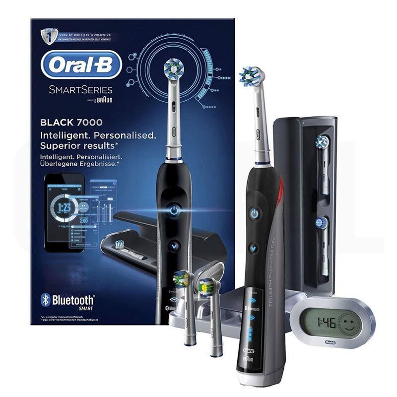 Oral-B Электрическая зубная щетка SmartSeries Triumph Pro 7000 D36.555.6X - фото 1