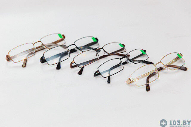 Очки Касияна Очки корригирующие в металлической оправах - фото 3