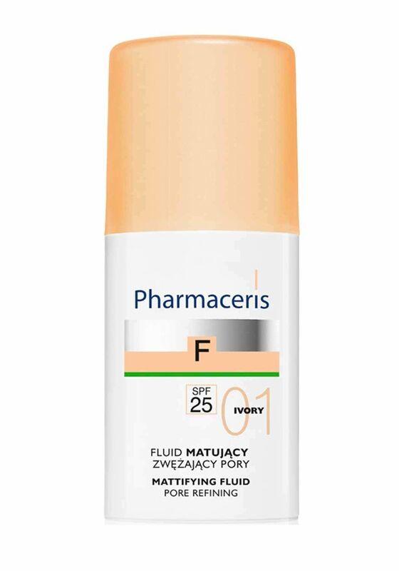 Pharmaceris Матирующий тональный флюид SPF 25 (тон: 01), 30 мл - фото 1