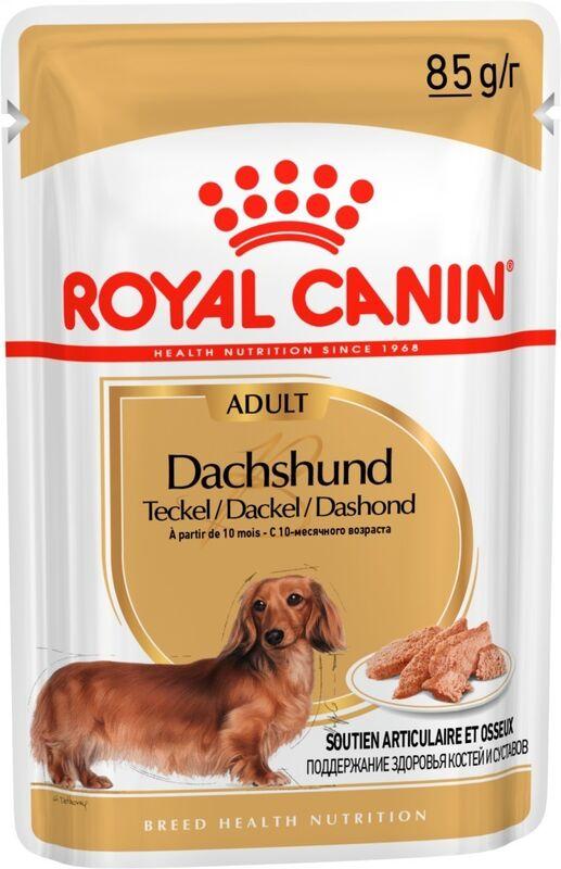 Royal Canin Dachshund Adult 85гр. х 12 шт. - фото 1