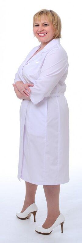 Доктор Стиль Халат медицинский женский Леди (лс3127) - фото 3