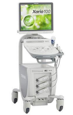 Медицинское оборудование Toshiba Ультразвуковой сканер Xario 100 - фото 1