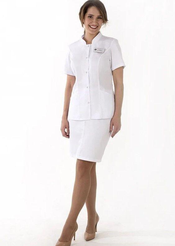 Доктор Стиль Медицинская блуза «Сандра» ЛУ 1224.К - фото 5