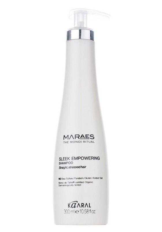 Kaaral Шампунь восстанавливающий для прямых поврежденных волос Sleek Empowering 300 мл - фото 1