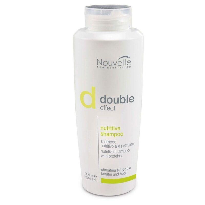 Nouvelle Шампунь питательный для сухих и поврежденных волос Double Effect Nutritive Shampoo - фото 1