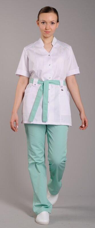 Доктор Стиль Блуза медицинская женская Ландыш (лу1226) - фото 1